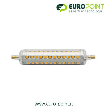 LAMPADA R7S LED BIANCO NATURALE 10W 118MM DIMMERABILE