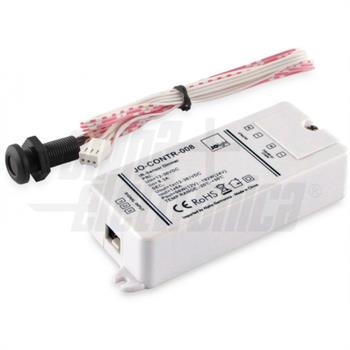 INTERRUTTORE DIMMER INFRAROSSO 12/24/36Vdc 8A