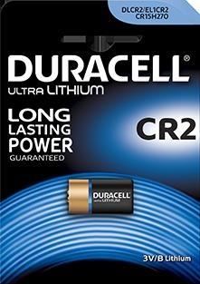 BATTERIA AL LITIO DL-CR2 ULTRA DURACELL