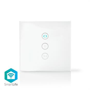 INTERRUTTORE DA PARETE WIFI SMART PER TENDE E TAPPARELLE
