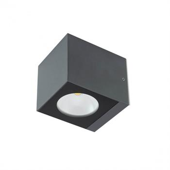 TEKO APPLIQUE 6W GRIGIO SCURO IP65 LUCE CALDA 3000K